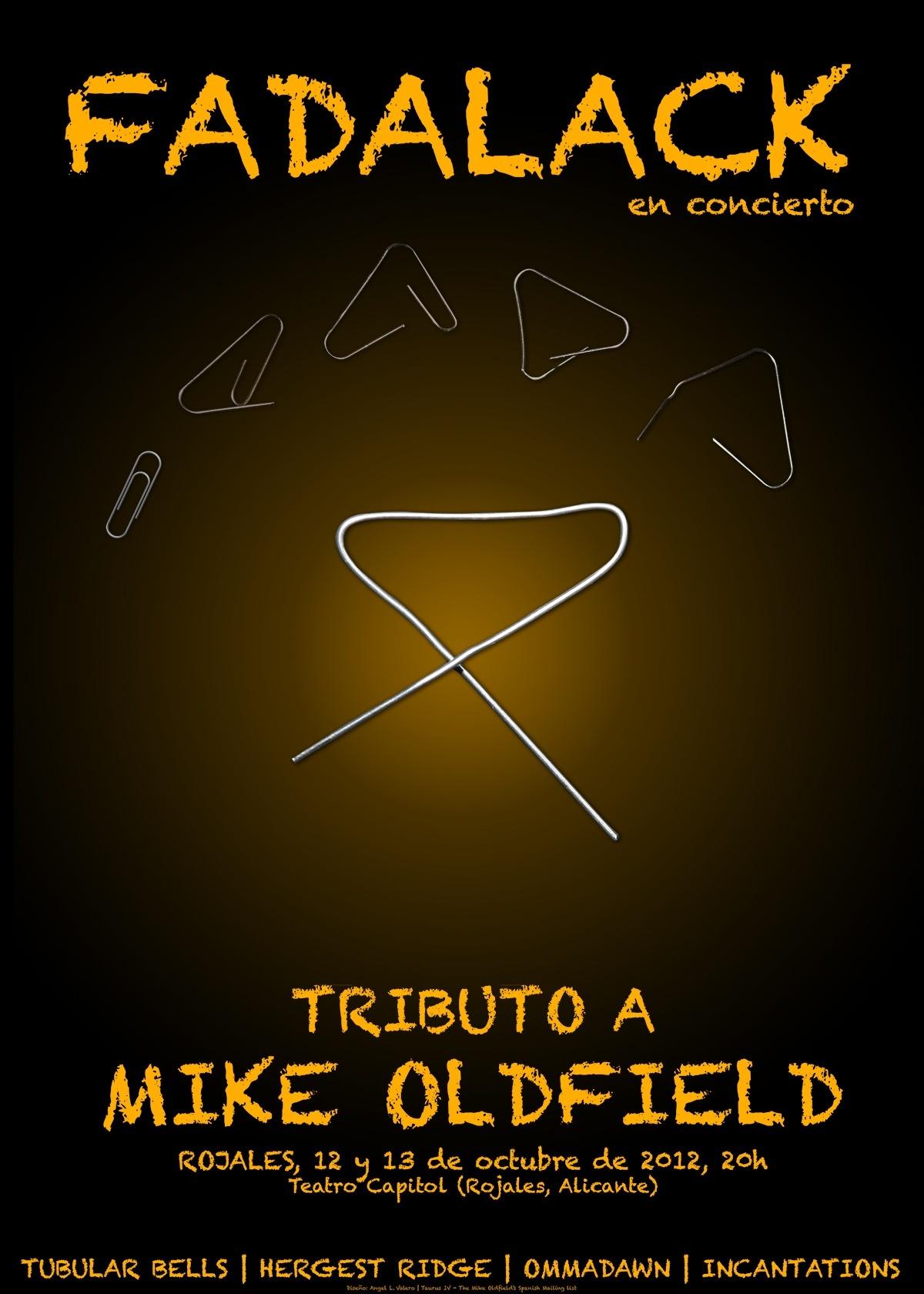 Cartel del concierto de Rojales