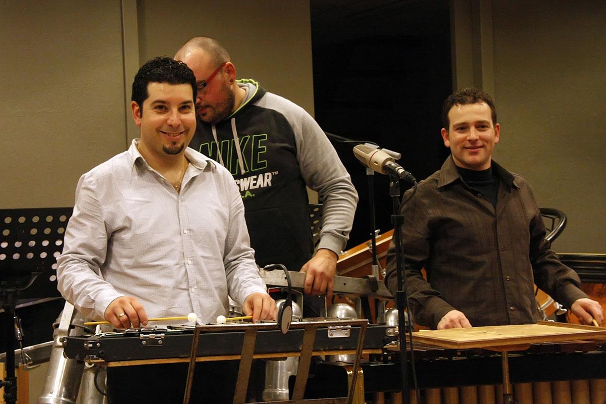 La percusión es uno de los puntos fuertes de Fadalack