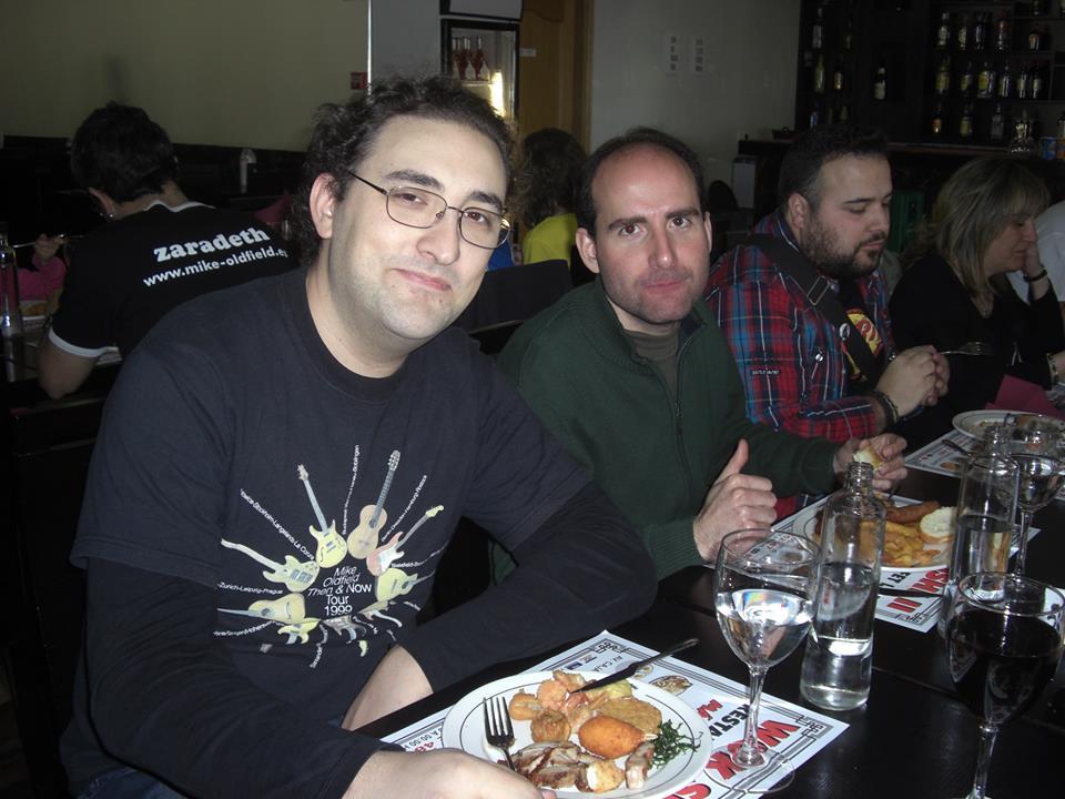 Octavio y Arturo. Madrid y Albacete más cerca que nunca